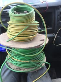 16mm copper earthwire green/yellow