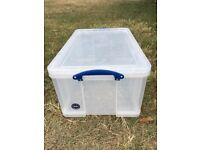 10 x Really Useful Storage Boxes 64 Ltr