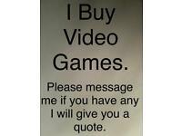 I buy video games.