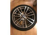 "Genuine 19"" BMW wheels"