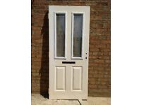 Front door, double glazed and insulated. 33 inches X 78inches
