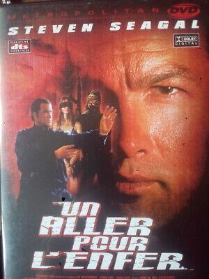 C10 DVD UN ALLER POUR L'ENFER Steven SEAGAL
