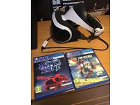 PlayStation VR, camera + 2 games