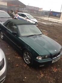 BREAKING BMW E36 CONVERTIBLE 320i AUTOMATIC