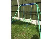 Mini child's swing