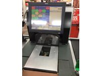 3 x Toshiba EPOS Touchscreen Till Epson Printer Scanner Customer Display Cash Drawer
