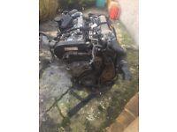 VW GOLF/BORA 1.8 20 VALVE TURBO ENGINE AND BOX £250 contact 07809582718