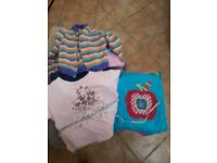 4 boxes of girls clothes age 2-3