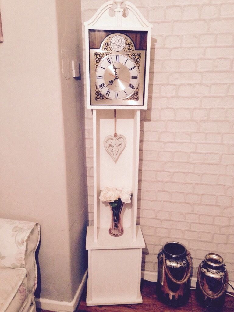 Shabby Chic Grandfather Clock