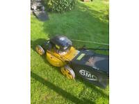 Wolf petrol lawnmower self propelled