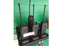 Icom IC-F2000 4x Walkie Talkies bc-213
