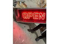 Retro OPEN Neon Sign
