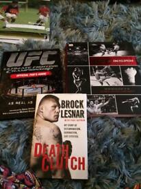 Selection of UFC themed books