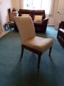 Parker Knoll lounge chair. Probably needs re-upholstering.