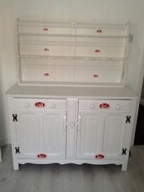 Antique style welsh dresser very good condition.A very nice piece of furniture.