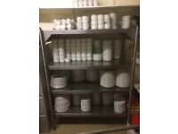 4 tier Catering Stainless Steel Shelf Rack