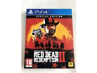 Red Dead Redemption 2 - Sony Playstation 4 Game - PS4 Cowboy Action Adventure II - Like New