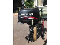 Suzuki 4hp Four Stroke Outboard Engine