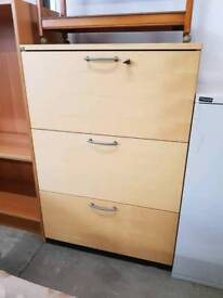 Large office filing drawers