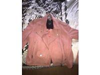 ladies superdry leather jacket