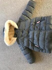 Marks & Spencer girls Winter Coat