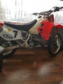Motorcross bike cr125