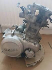 Yamaha yzf r 125 2010 engine