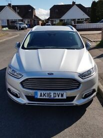 Ford Mondeo Titanium Estate Silver 2.0 Diesel,Manual ,Great Condition
