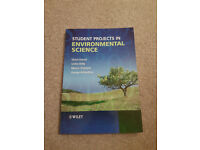 Various Environmental Science Books for Undergraduate Study - £5 or £10 each
