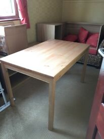 Oak Effect Dining Table