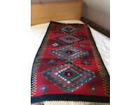 Native American rug, 187cm long , 96cm wide, original art.