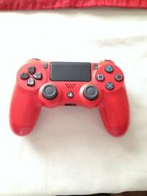 PS4 Red Remote BRAND NEW