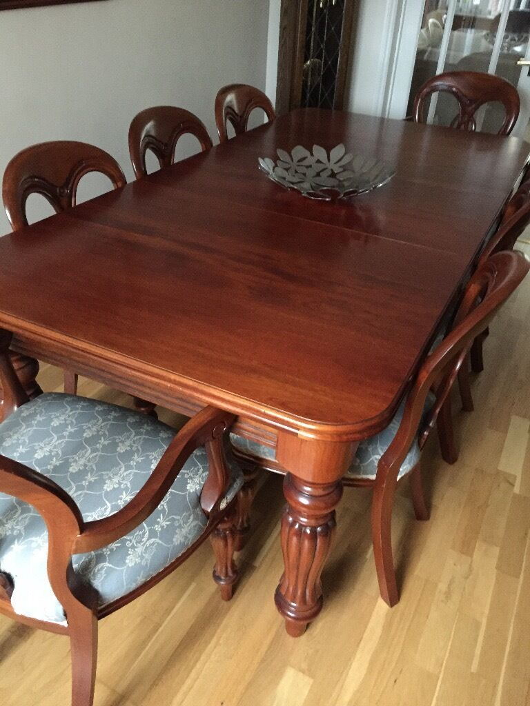 Gumtree Victoria Dining Table Victorian Dining Table 6 Ercol