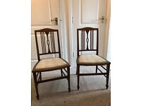 Charming antique chairs