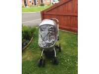 Mothercare Pram Grey good condition only £125 Ono quick sale