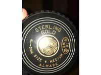 SET OF 4 STERLING GOLD BOWLS