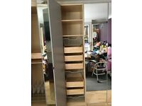 Ikea single & double wardrobes 236cm high from £70 each