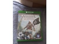 Xbox one Assasins Creed: Black Flag. As good as new.