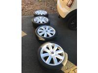 Mini R56 Cooper S alloys with Pirelli Tyres