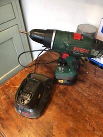 BOSCH PSB 18 LI-2 Hammer Drill/ Driver With 18V battery