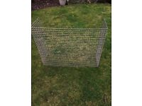 Stainless steel mesh guard 25 x25x3 mm