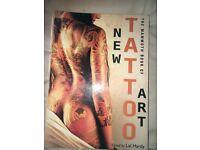New tattoo art book