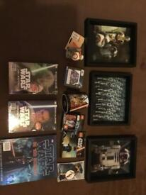 Sta Star Wars items all new and sealed