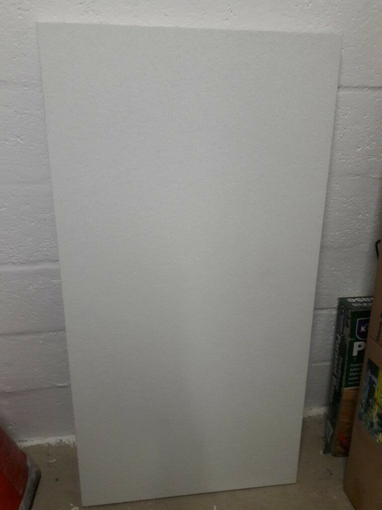 Offcut Of Earthstone Breakfast Bar Worktop Nordic White