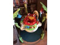 Rain forest jumperoo, £30 excellent condition, fully working but requires new batteries