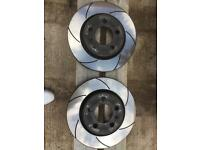 Audi TT Mk1 rear brake discs (Black Diamond )