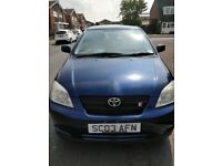 Toyota Corolla - Very Low Mileage