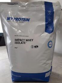 Impacr whey isolate 5kg protien powder