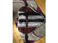 Western style saddle pad