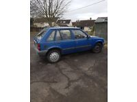 Vauxhall nova for sell. Spares or repair
